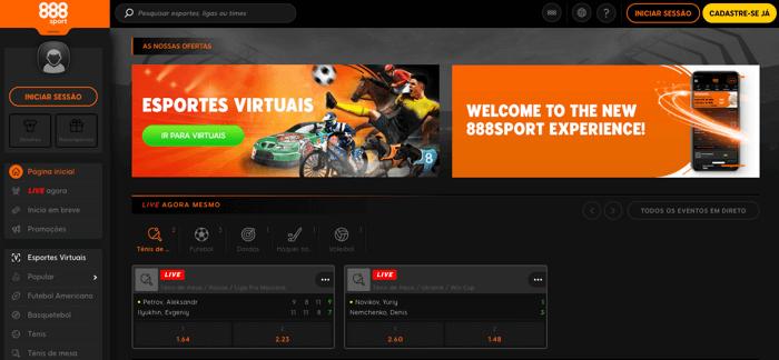 888 - Esportes virtuais