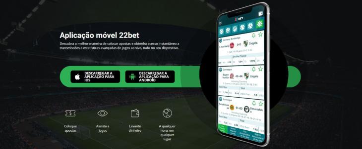 22Bet aplicativo